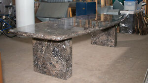 Vintage Granite Conference Table