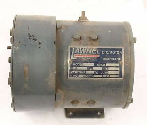 New Ev1803x Lawnel D c Motor 5hp 1750rpm