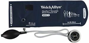 Welch Allyn Ds45 11 Gauge With Durable One Piece Adult Cuff Pocket Style