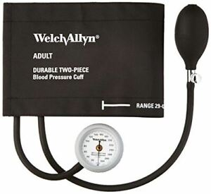 Welch Allyn Ds44 11cb Gauge With Durable Two Piece Cuff And Bladder Adult