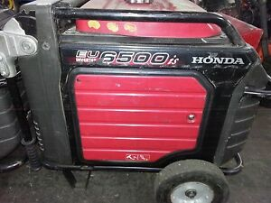 Used Honda Generator Eu6500is Eu6500 W Portable Quiet Inverter Gas Power Rv