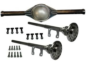 Ford 9 Inch 49 Hd New Smooth Back Rear End Housing Kit With 31 Spline Axles Hdw