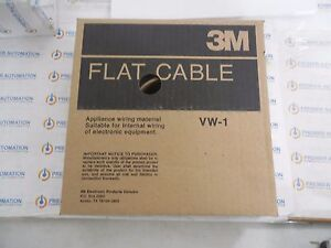 3m 3355 20 3355 20 100 Flat Cable 050 20c 1 Roll 100ft