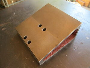 Angle Plate Fixture 8 X 8 For Milling Machine Etc Free Shipping