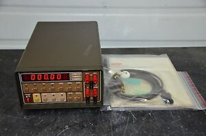 Keithley 192 Programmable Dmm Multimeter Manual With Option 1923 Installed