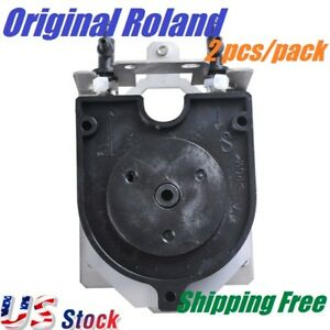 Us Stock 2 Pcs Roland Xj 540 Xc 540 Solvent Resistant Ink Pump 6700319010