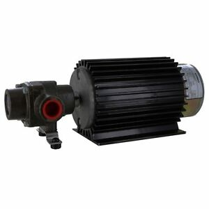 Hypro 4101n e2h Roller Pump With 12 volt Electric Motor