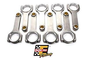 6 000 Length 4340 Forged H Beam Connecting Rods Set For Chevrolet Sbc