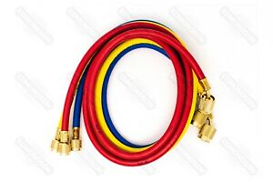 Yellow Jacket 22985 Plus Ii 60 Charging Hose ryb 3 pack W Sealright Fitting