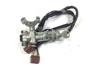 96 00 Civic 5sp Mt Ignition Switch Assy Steering Wheel Lock Key Pigtail Used Oem