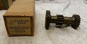 Cluster Gears 1933 36 Chevrolet Standard And Sedan Delivery 473209 Tg197 8