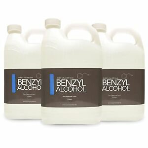 3 Gallons Of Benzyl Alcohol Usp Grade In Bpa Free Plastic Container Fast Ship
