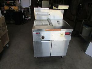 Frymaster Gas Fryer With Filter Magic Model Fm135