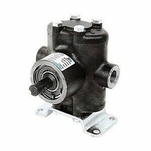 Hypro 5330c rx Small Twin Piston Pump Solid Shaft