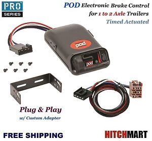 Pod Trailer Brake Control W Adapter For 2003 2006 Chev Silverado Gmc Sierra