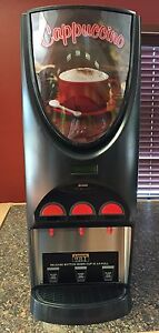 Bunn Imix 3 Cappuccino Machine 3 Flavor Self Serve Dispenser