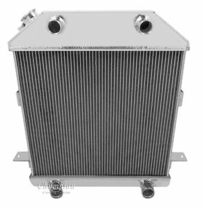 1939 1941 Ford Mercury Flathead Config Aluminum 3 Row Core Kr Champion Radiator