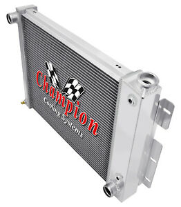 4 Row Aluminum Kr Champion Radiator For 1967 68 69 Chevrolet Camaro