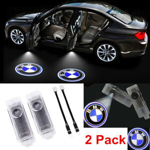 2 Logo Led Step Door Courtesy Welcome Light Ghost Shadow Laser Projector For Bmw