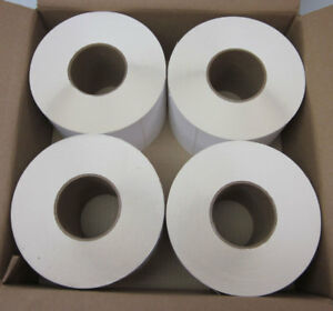 New Lot 4 Pol 5x2 75 300 5 X 2 75 Thermal Roll Label 3 core White 2250 rolll