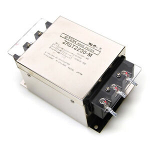 Tdk Lambda Zrgt2230 m 3 phase 30a Power Line 250vac Emc Noise Filter