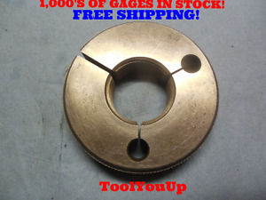 1 3 8 12 Nf 3a Thread Ring Gage 1 375 Go Only Pd 1 3209 Machine Shop Tooling