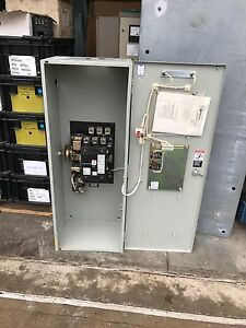 940 Asco Non automatic Transfer Switch E486e7c 260a 125 250v 3 Pole Used