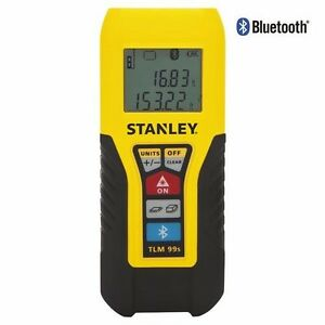 Stanley Stht77343 100 foot Point And Clickbluetooth Laser Distance Measurer