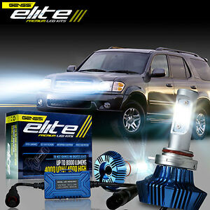 Elite G7 Led Headlight Conversion Kit Bulbs For 2001 2007 Toyota Sequoia