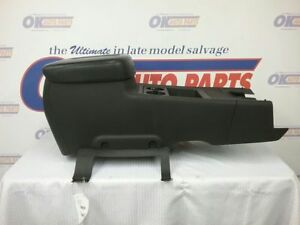 07 Avalanche Chev Truck Floor Center Console Black