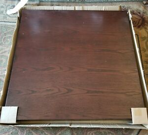 New 35x19 4 Thick Restaurant Table Top Oak Wood Veneer Commercial Furniture