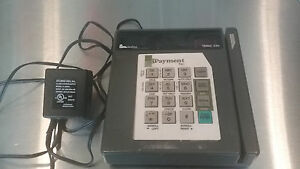 Verifone Tranz 330 Two Credit Card Terminals Power Supplies One Printer 250