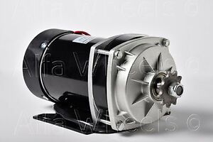 500w 24 V Dc Electric Motor F Quad Trike Go kart Diy Zy1020zxf Gear Reduction