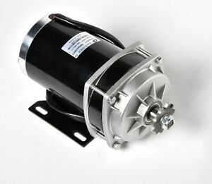 1000w 48 V Dc Electric Motor F Quad Trike Go kart Diy Zy1020zxf Gear Reduction