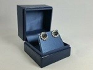 Stud Earring Leatherette Jewelry Boxes