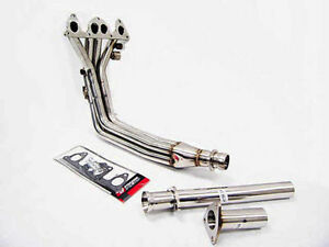 Performance Exhaust Header For 84 87 Honda Prelude 86 89 Accord A20 3pc By Obx
