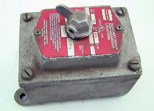 Arktite Crouse Hinds Eds Series Switch Control Station Eds 171