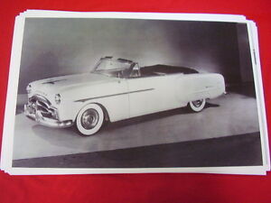 1951 Packard 200 Deluxe Convertible 11 X 17 Photo Picture