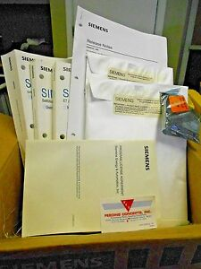 Siemens Software Lic Ss505 6201 505 6201 Manuals Comprofibus New In Box