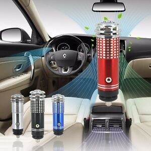Clean Air For Your Car Vehicle Air Purifier Portable 12v Smoke Remover Fresher