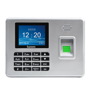 2 8 Tft Free Software Fingerprint Attendance Machine Access Control System