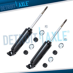 Dodge Dakota Durango Complete Shock Absorbers Fit Front Left Right 2wd Only