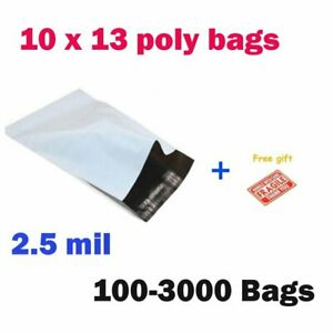 100 3000 10x13 Poly Mailers Shipping Envelope Self Sealing Plastic Bag Wholesale