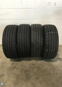 2x P215 45r17 Travelstar Un33 9 32nds Used Tires