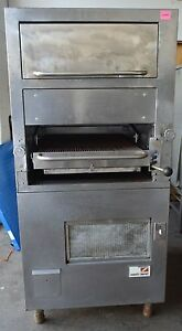Southbend Gas Upright Infrared Broiler With Warming Oven Model 171 34