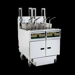 Anets Ah Series Gas Fryer Model Ah55 With Or Without Filtration System