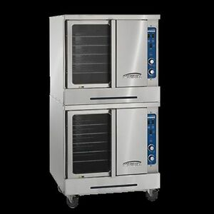 Imperial Double Deck Standard Depth Convection Oven Model Icvg 2