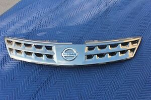 06 07 Nissan Murano Grille Grill Assembly Emblem Chrome Genuine Factory Oem