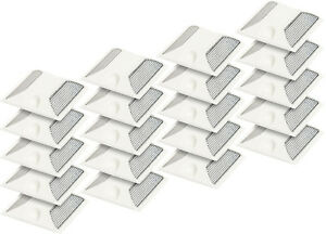 New Commercial Reflective Road Highway Pavement Marker Reflector 20 Pack white