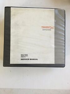 Traverse Lift Rough Terrain Variable Reach Forklifts Service Manual